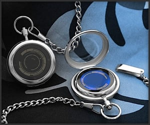 Tokyoflash LCD Pocket Watch