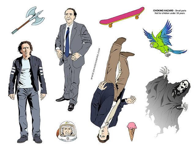 Nicolas Cage Adventure Set