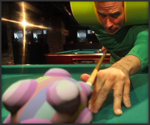 Touch My Katamari: Billiards