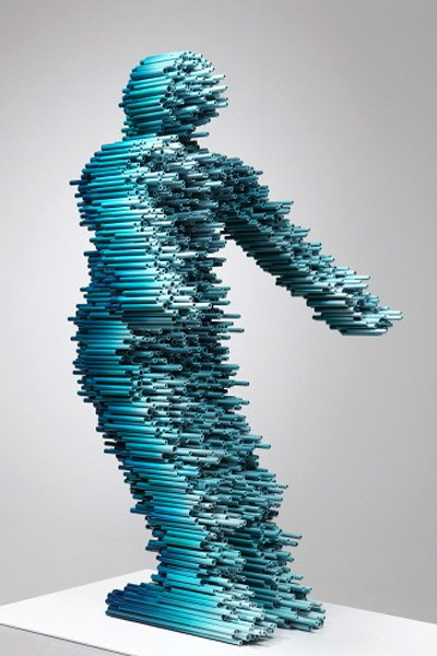 PVC Pipe Sculptures