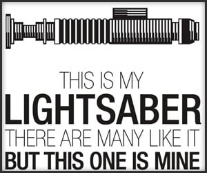 This is My Lightsaber Tee