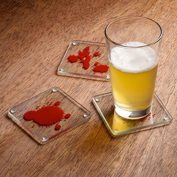 Dexter Blood Slide Coasters