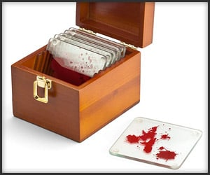 Dexter Blood Slide Coasters