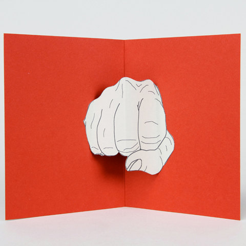 Enough Said Pop-Up Cards