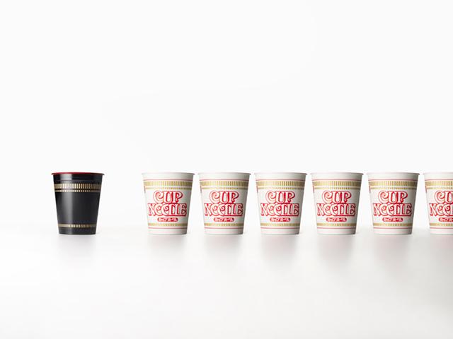 Lacquered Cup Noodles Bowls