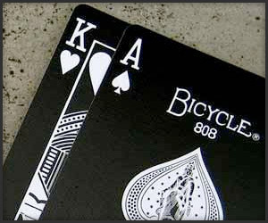 Bicycle Black Tiger Cards