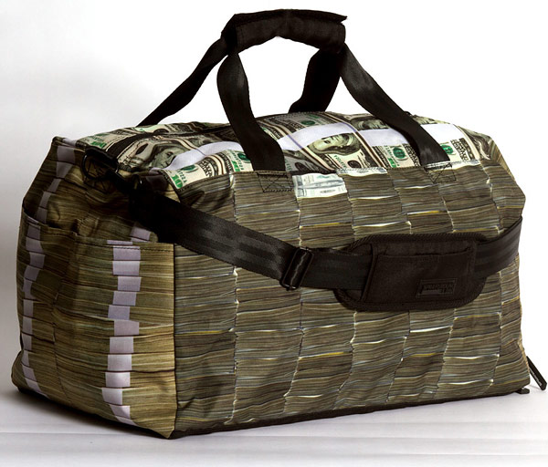 Money Stacks Duffel