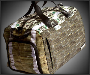 Money Stacks Duffel