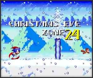 Sonic Claus is Coming to Town