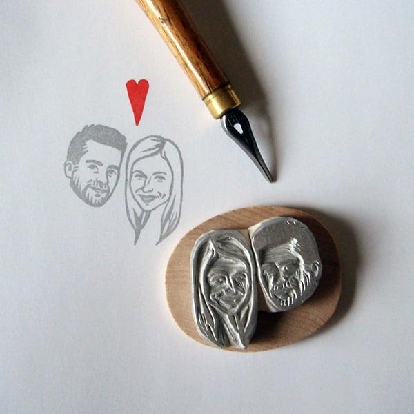 Custom Portrait Stamp