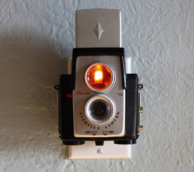 Vintage Camera Nightlights