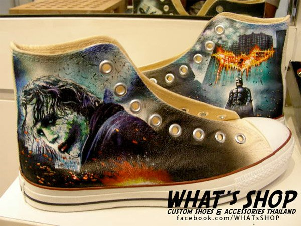 WHAT's Shop Custom Converse