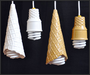 123111 mr whippy lights t Ice Cream Cone Lamps