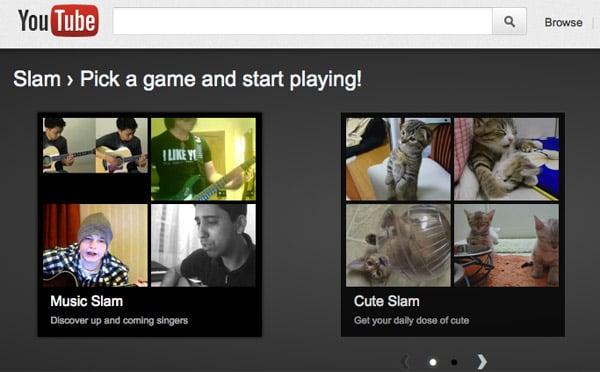 YouTube Slam