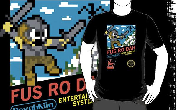 8-Bit Dovahkiin (T-Shirt)