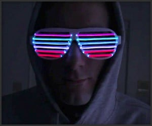 Sound-Reactive Kanye Glasses