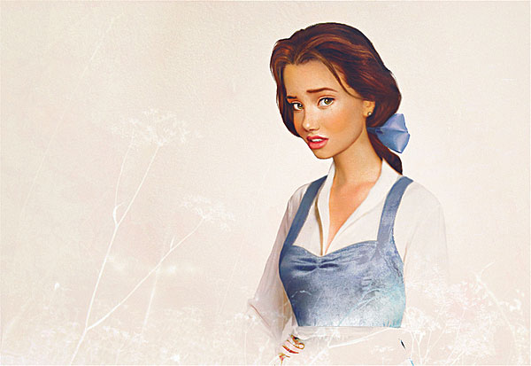 Realistic Disney Princesses
