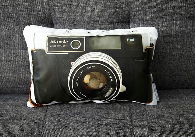 Vintage Camera Canvas Pillows