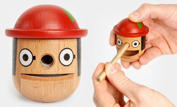 Honest Boy Pencil Sharpener