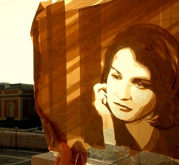 Tape Art by Max Zorn