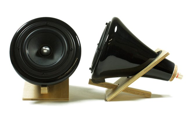 Black Ceramic Speakers