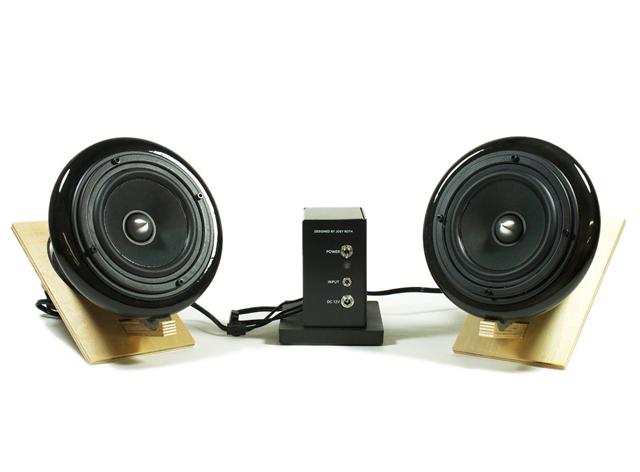 Black Ceramic Speakers