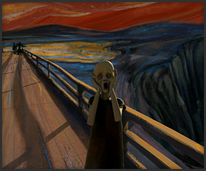 The Scream Animated