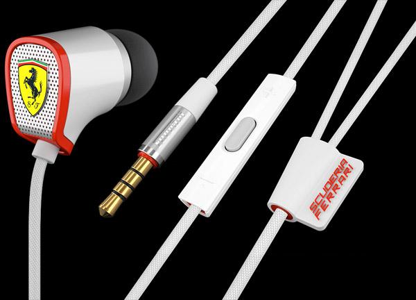 Ferrari Scuderia Headphones