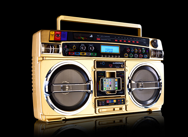 Lasonic i931x gold the awesomer - Lasonic ghetto blaster i931x ...