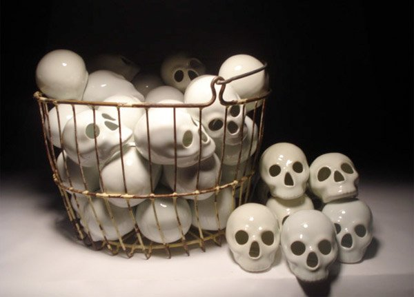 Basket of Skulls