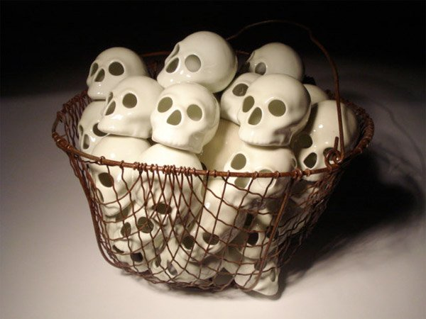 Basket of Skulls
