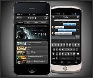 Steam for Mobile Devices