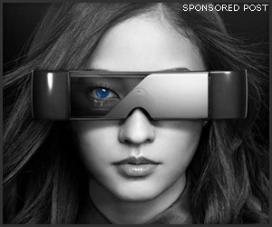 Epson Moverio HMD Glasses