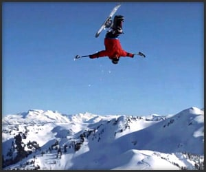 Sit Ski Backflip