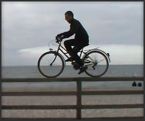Mickael Dupont - Freestyle con bici de mujer