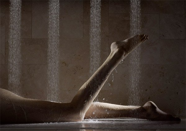 The Horizontal Shower