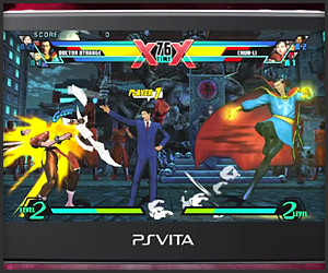 Ultimate MvC3: PS Vita