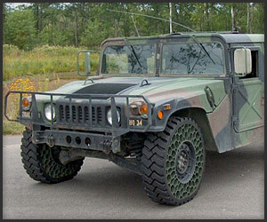 Humvee Airless Tires