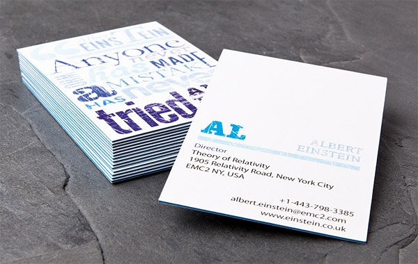 Moo luxe business cards reheart