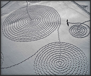 Snow Drawings