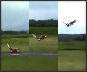 The Flying Lawnmower