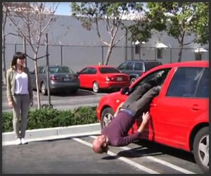 Nathan's Car Door Stunts