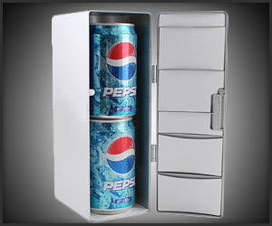 Double Can USB Fridge