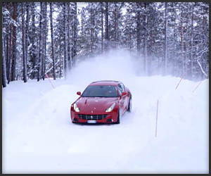 Ferrari FF Snow Rally