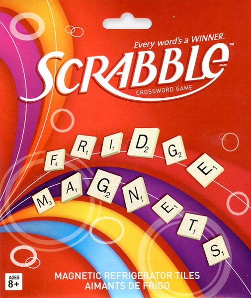 Scrabble Magnet Set