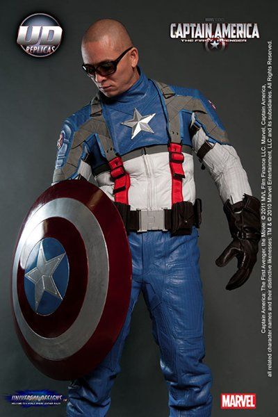 Capt America Motorcycle Suit The Awesomer