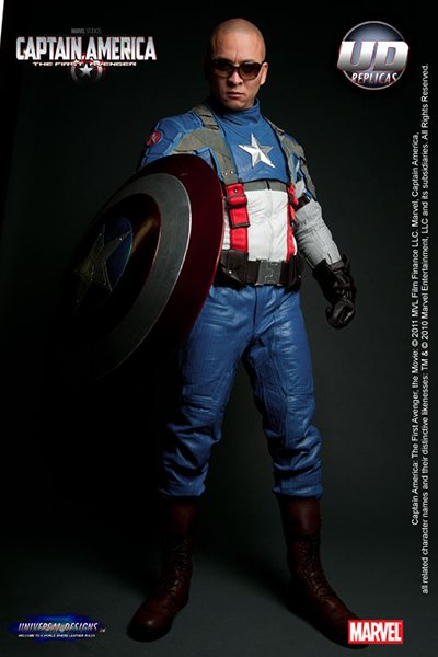 Capt. America Motorcycle Suit