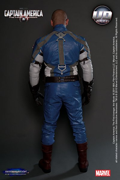 Capt. America Motorcycle Suit