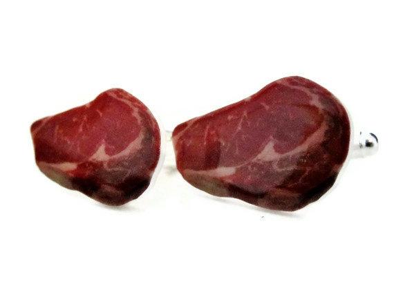Steak Cufflinks
