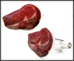 Steak Cufflinks